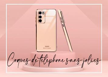 Coques de téléphone sans jolies
